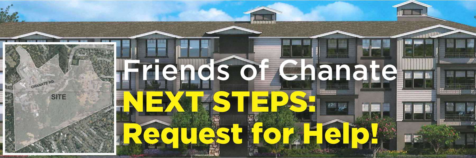 Friends of Chanate was impressed and heartened by the 150+ people who took time out of their busy Sunday to attend our Neighborhood Meeting on May 20th. Clearly there is interest in what is happening with this property and we were happy to receive so many questions asking how you can help.