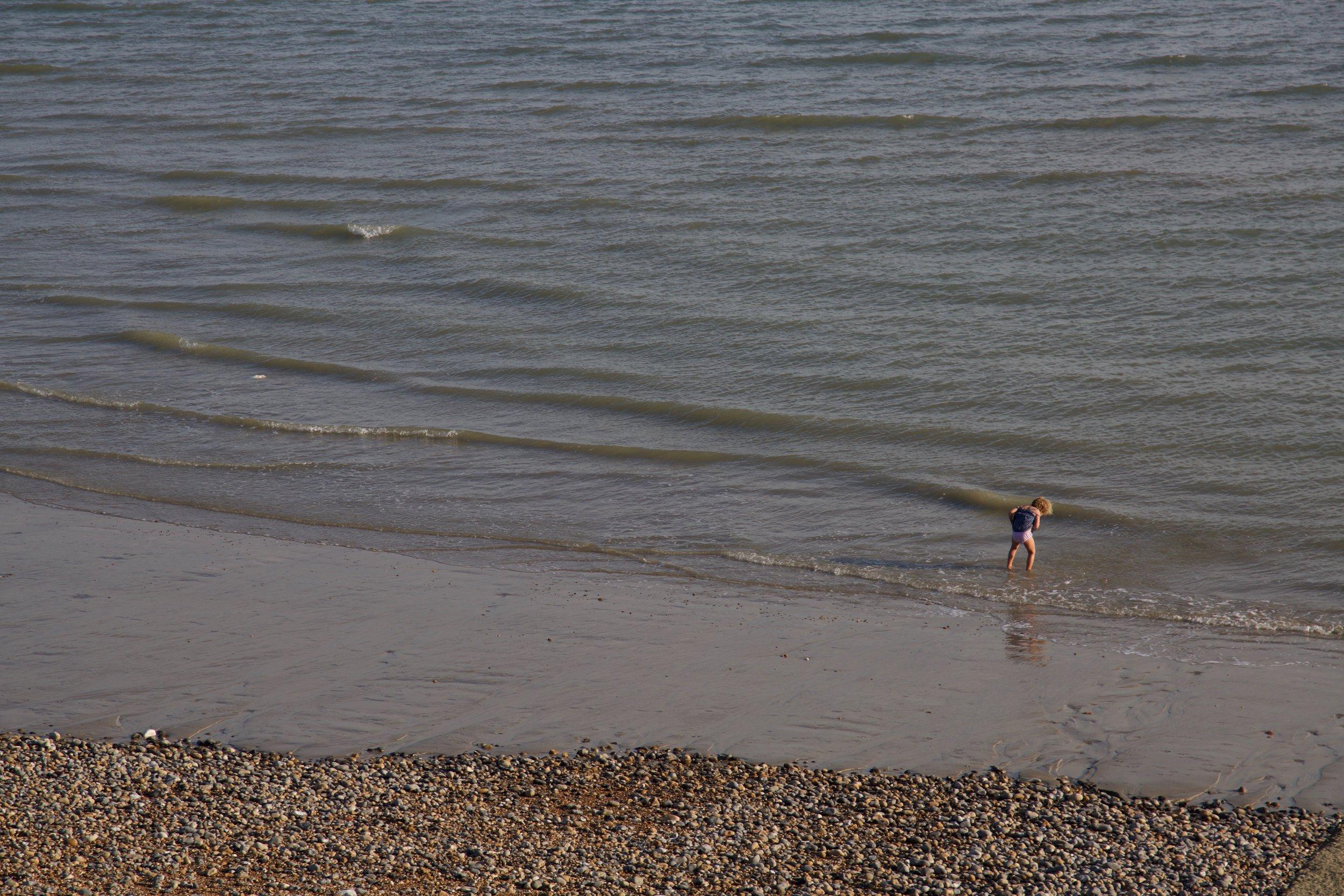 Child on the Coast, 2015 (Brighton)