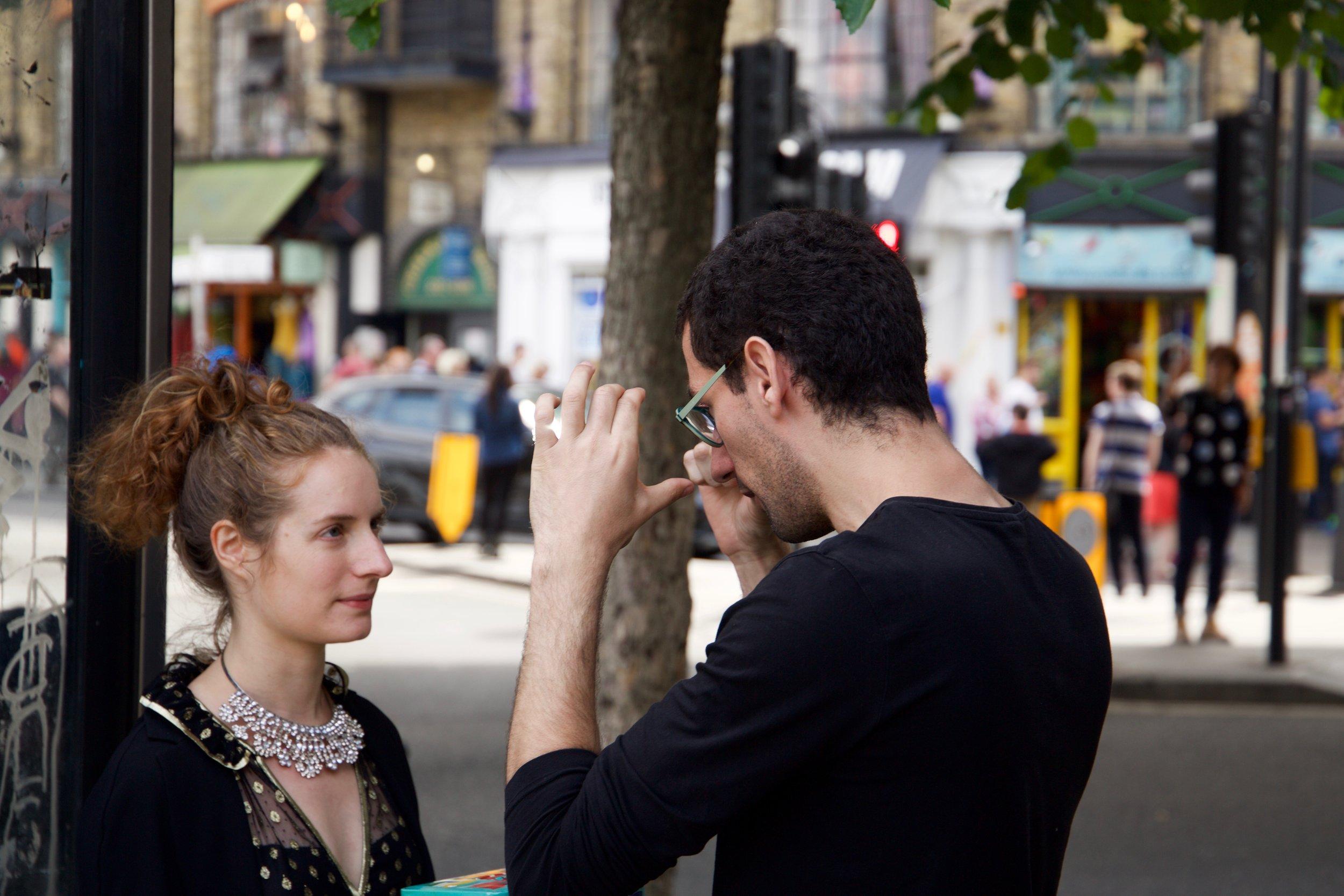 Copy of Letizia Binda-Partensky (performer) and David Silva (director)