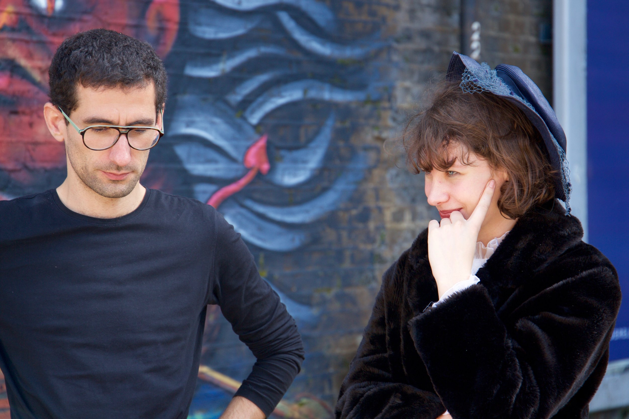 Copy of David Silva (director) and Stefania Ghasel Ritz (performer)
