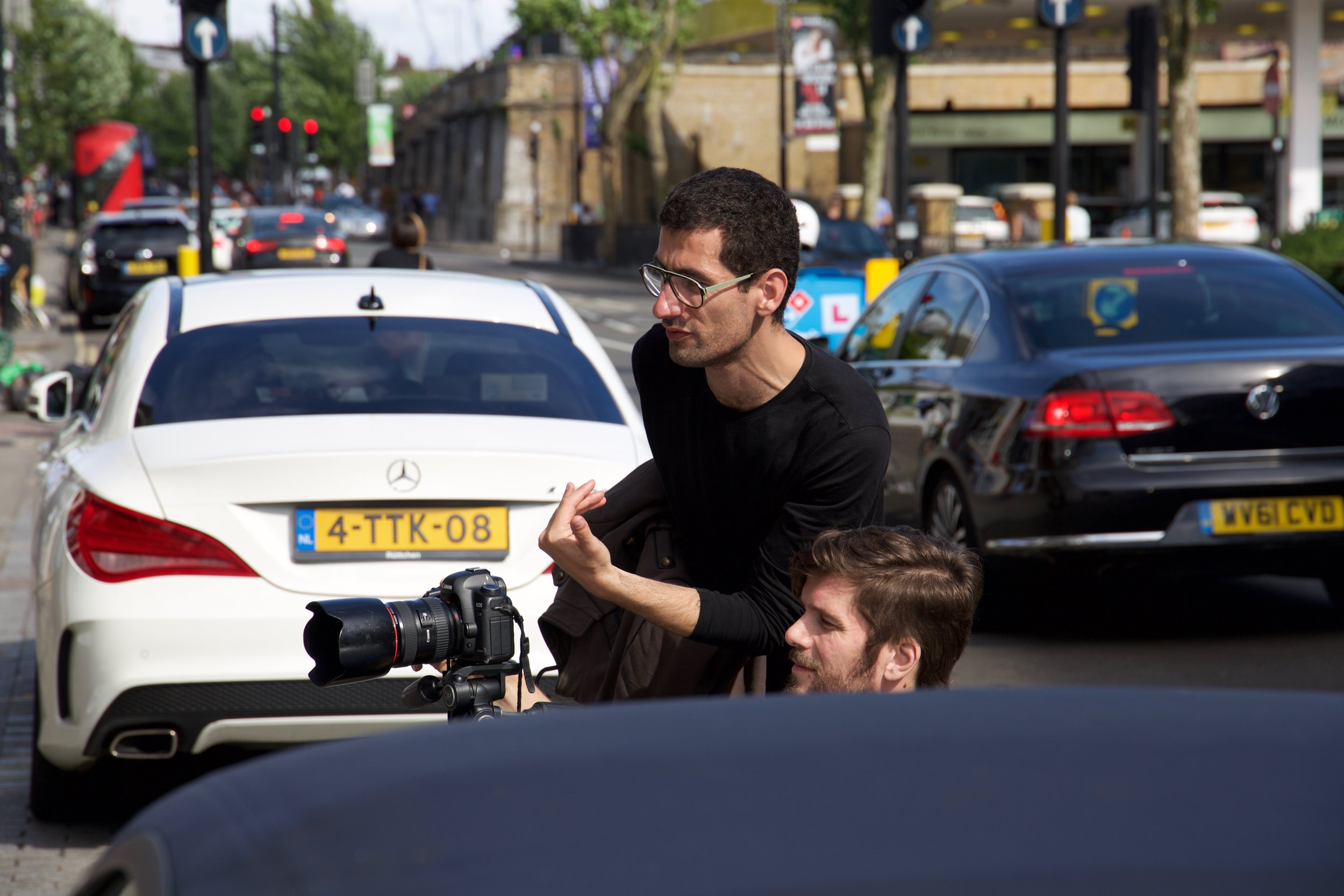 Copy of Ludovic Des Cognets (photographer) and David Silva (director)