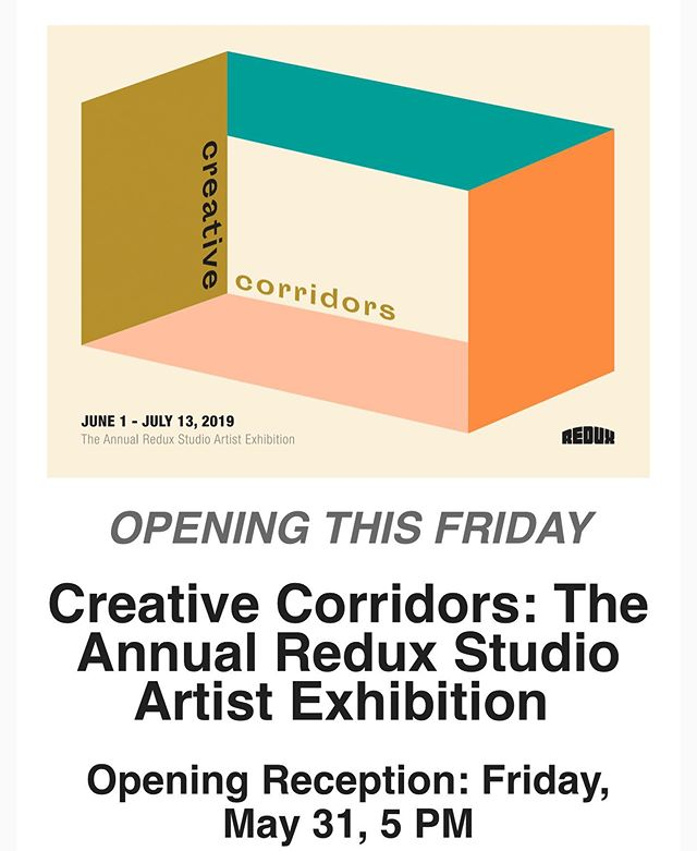 Mark your calendars Charleston friends! @reduxartcenter studio artists show this Friday 5-8. Come say hey and see some cool works.  #charlestonsc #artistcoop #redux #art #artist #artopening