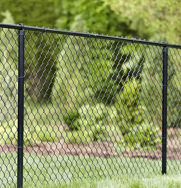 Galvanized and Vinyl Coated Chain Link fence, when used in the proper setting, provides long lasting, affordable security and containment. -