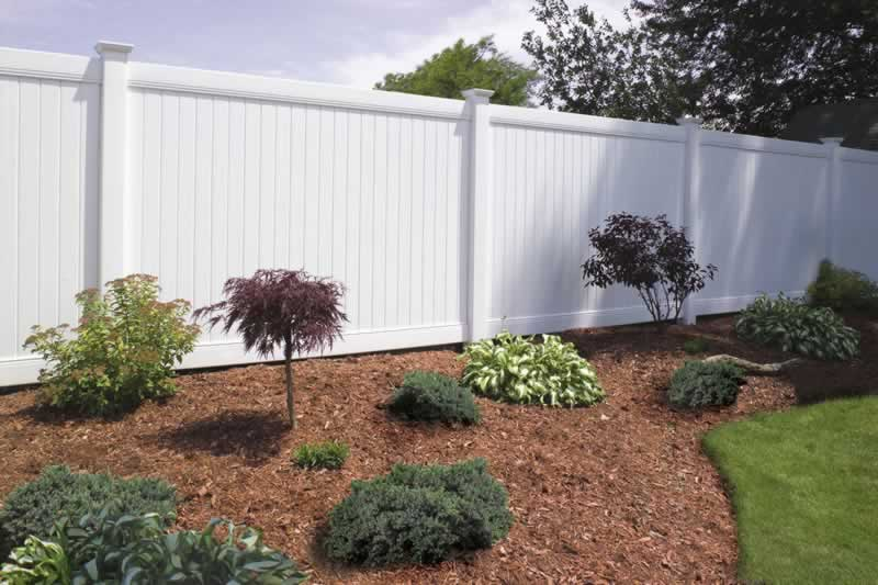 With the right design, Vinyl fencing can be an attractive alternative to wood Picket or Privacy for many years to come. -
