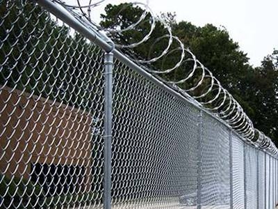 Contact us for your commercial and industrial fencing needs. -