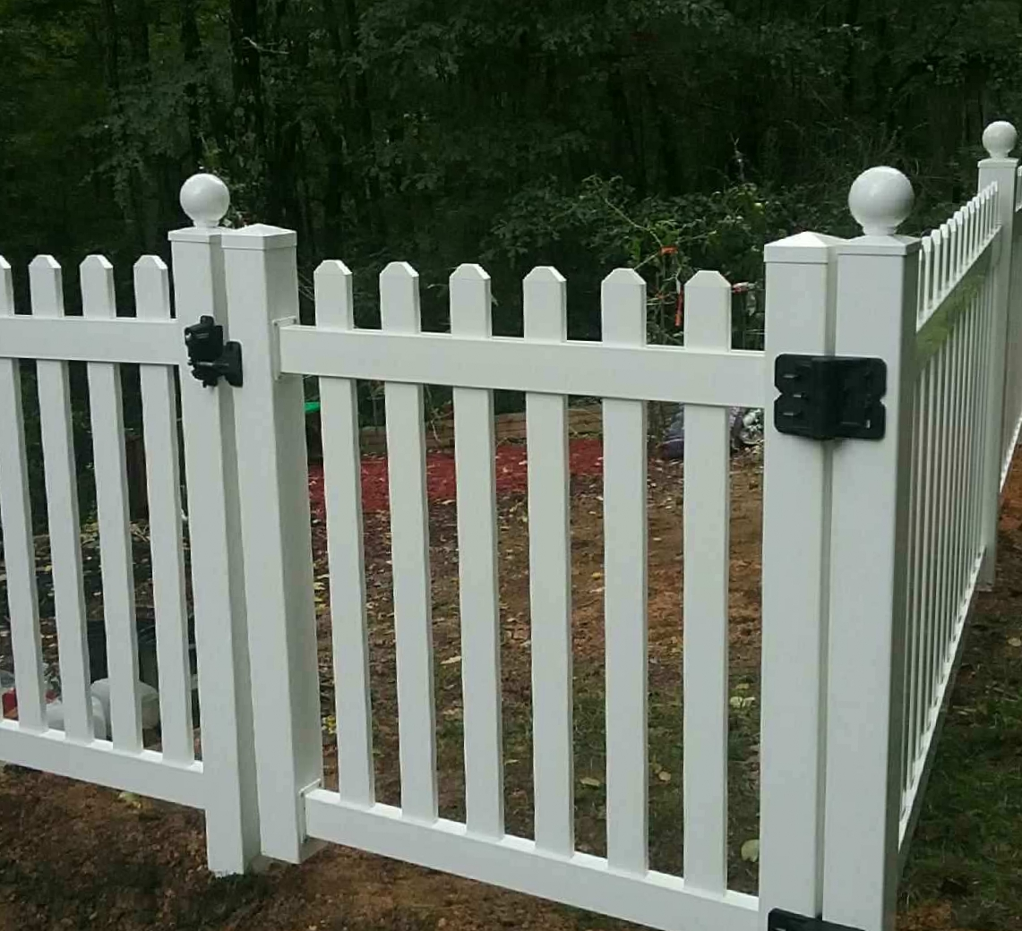 Ball caps can add a nice touch to the tops of posts, giving the fence an upgraded look.