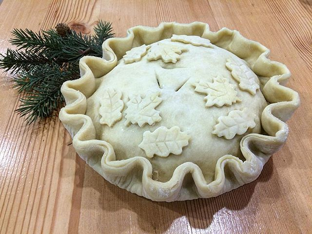 Check out this beautiful tourtiere prepared by our friends at @dinechartier. Classic French Canadian cuisine!