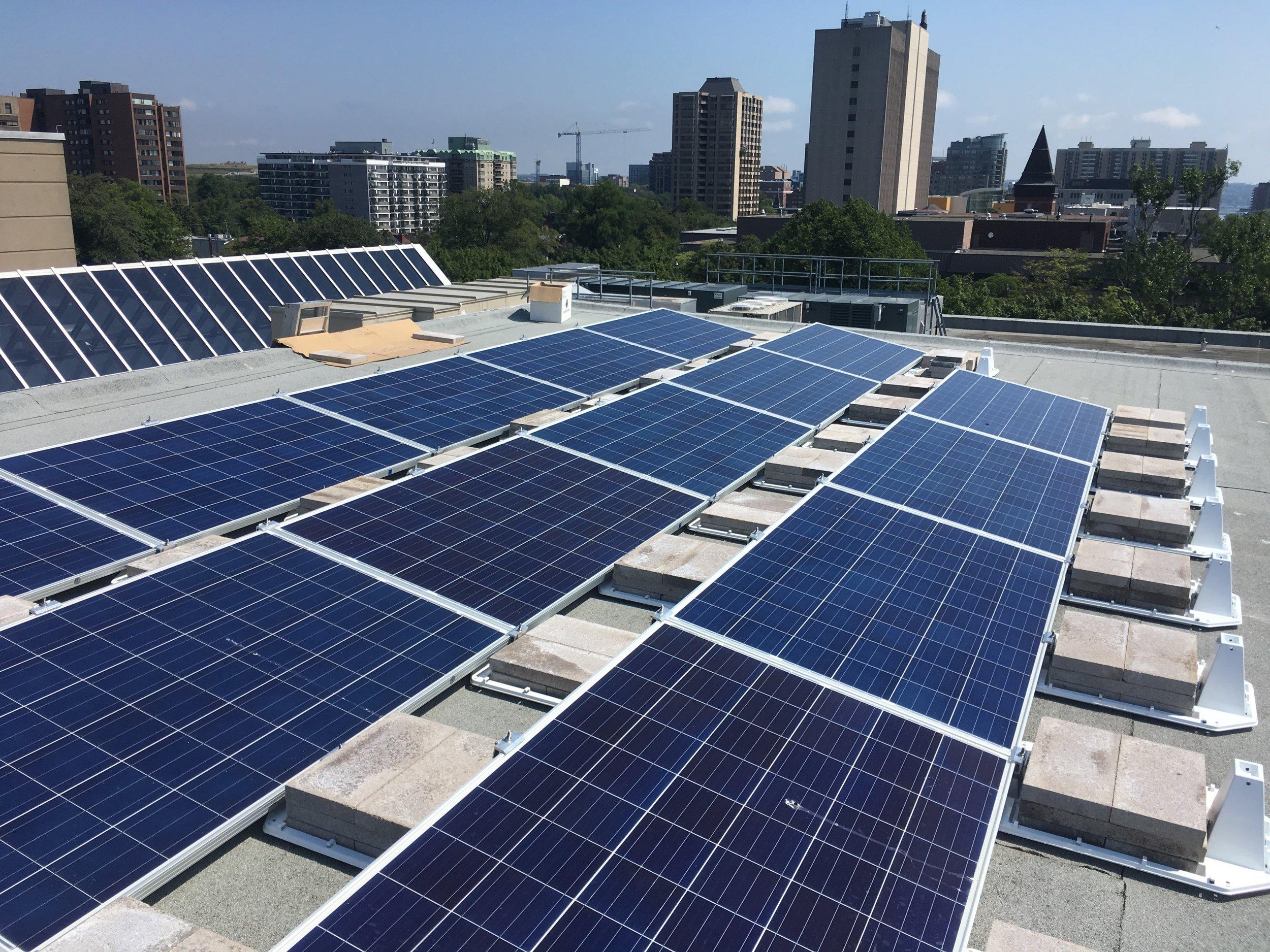 Dalhousie University   Schulich School of Law (3.44 kW solar PV system)
