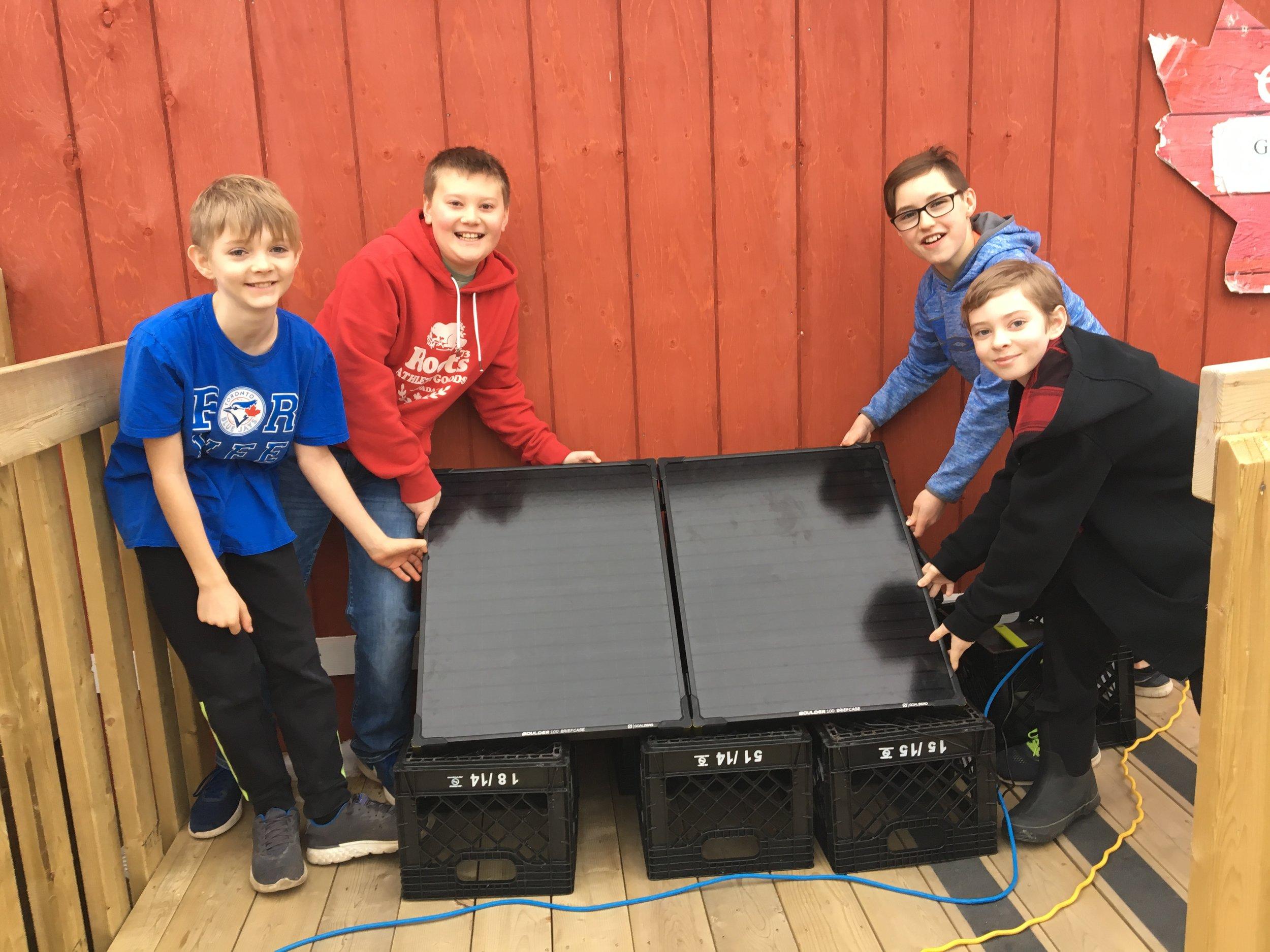 Basinview Drive Community School   Classroom Solar Project