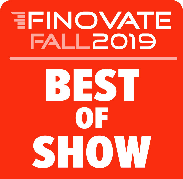 "Zogo won ""Best of Show"" at FinovateFall 2019, voted by 1500+ financial industry experts from 75 international companies. - Click here to read an article on the award."