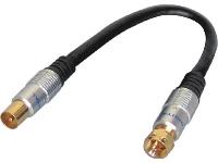 F Plug To TV Male