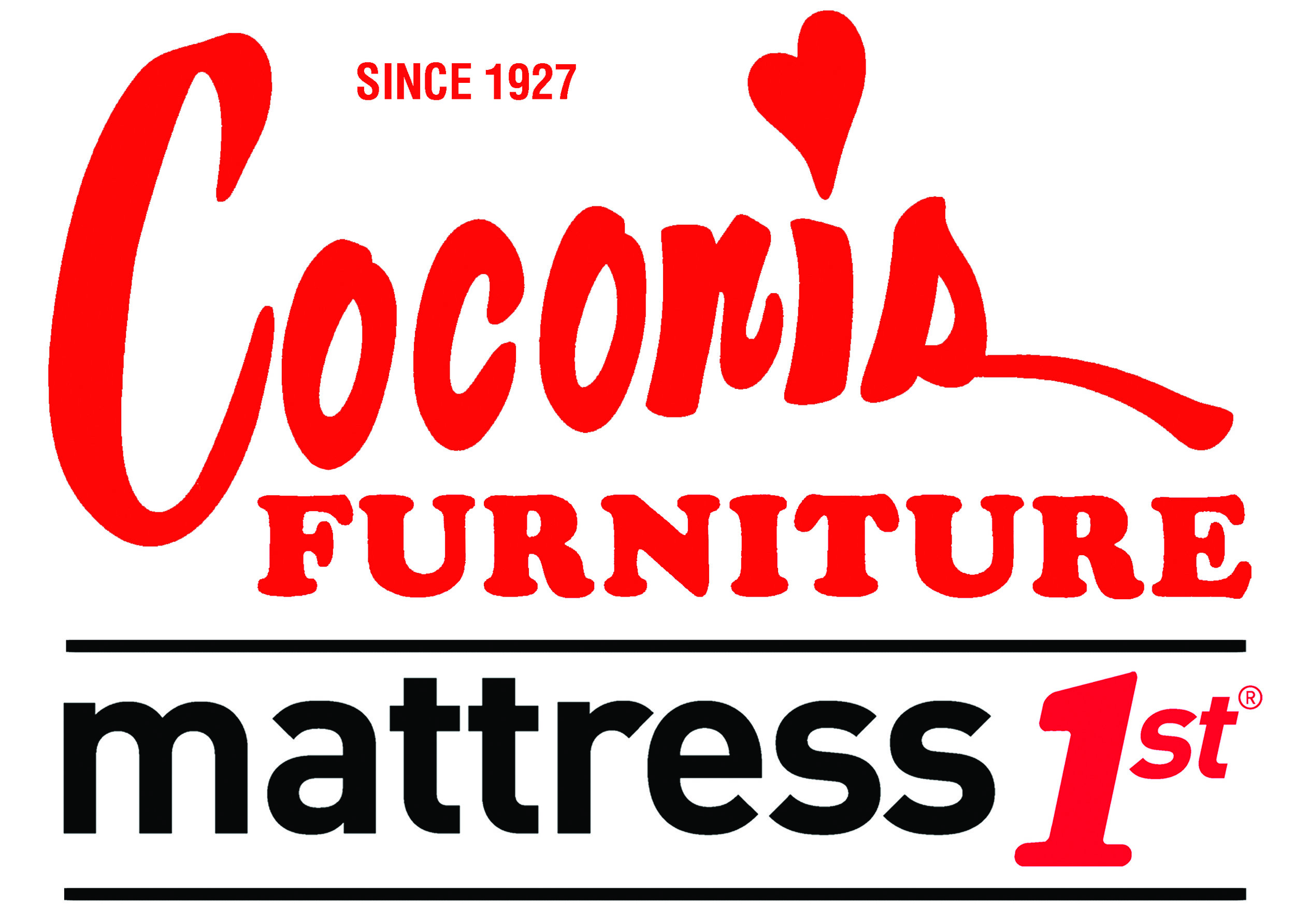 Coconis Furniture - Mattress 1st OFFICIAL logos in RED.jpg