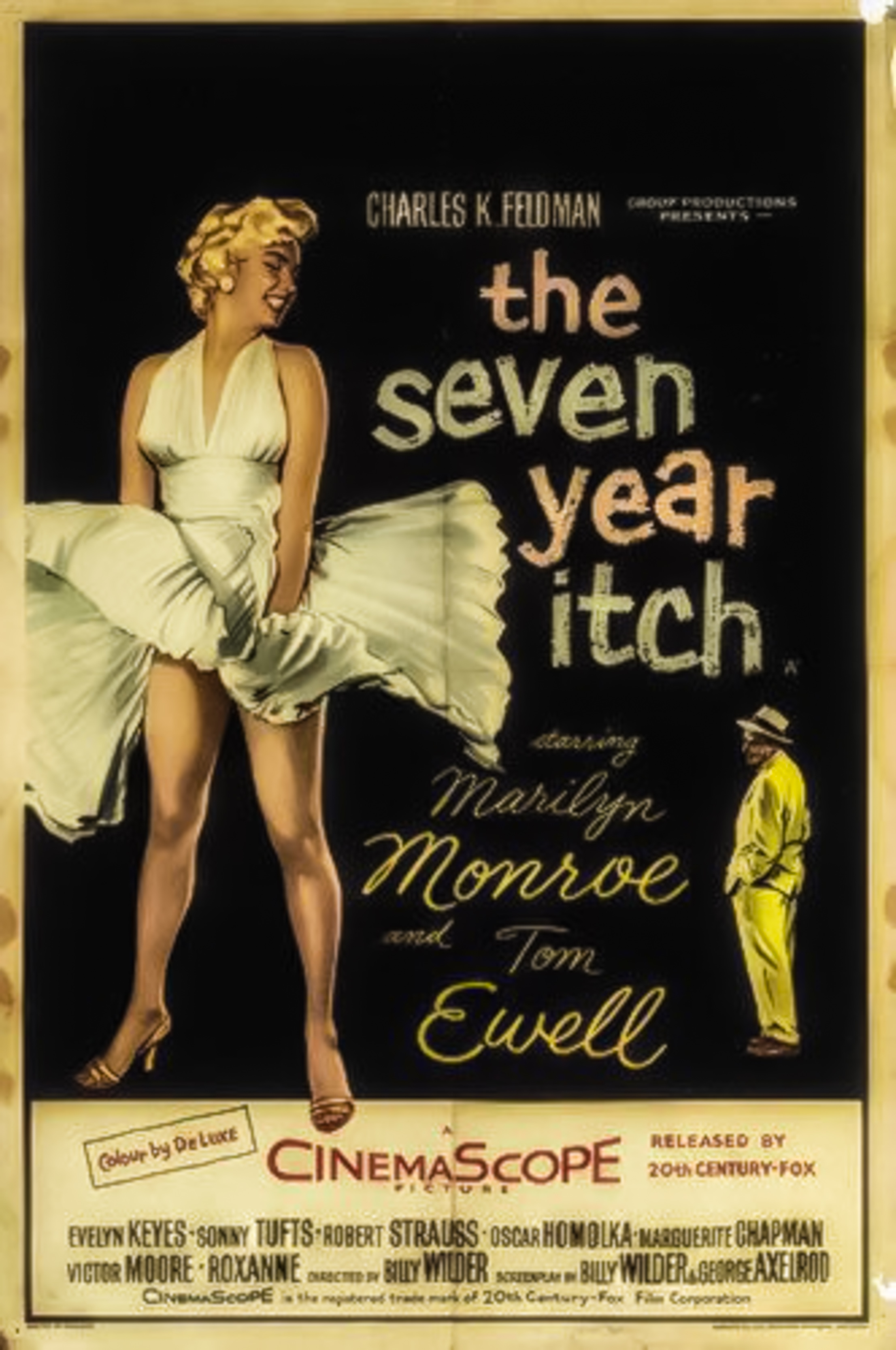"""""""Seven Year Itch"""" film poster"""