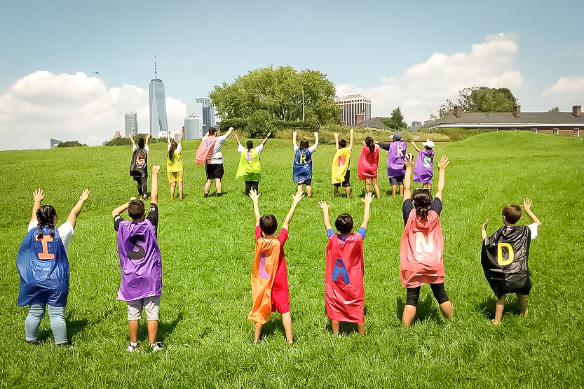 Governor's island is an unforgettable great experience for kids. photo: Governor's island