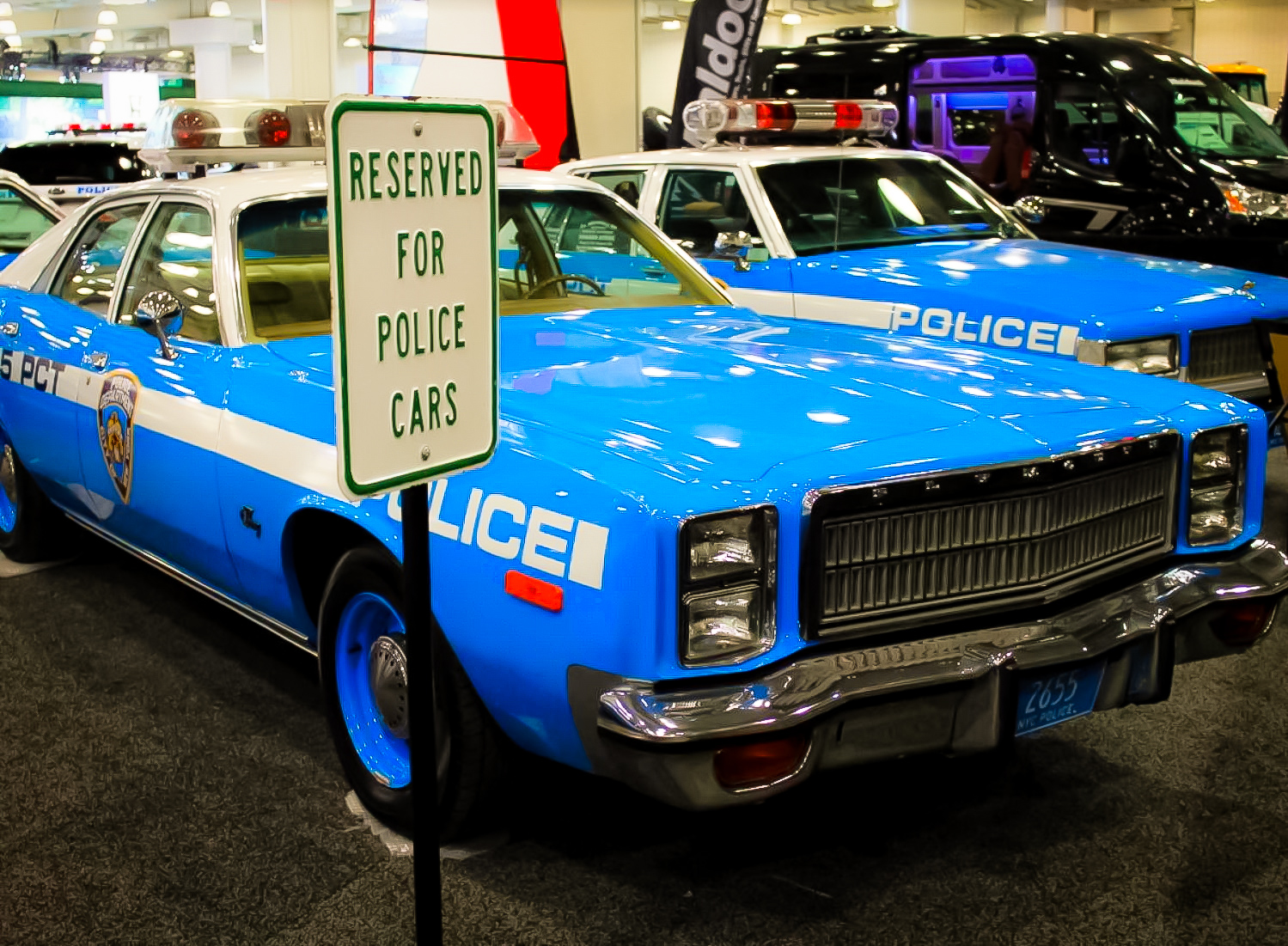 CHEVROLET CAPRICE – While not the most high profile part of the 2016 New York Auto Show, the classic cars at the NYPD display allow visitors to feel like they're traveling through time.