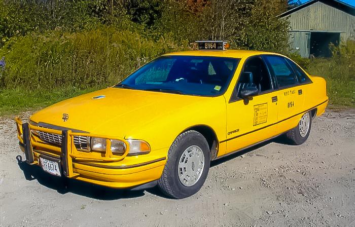 1991 Chevrolet Caprice. Image:  Daniel Strohl