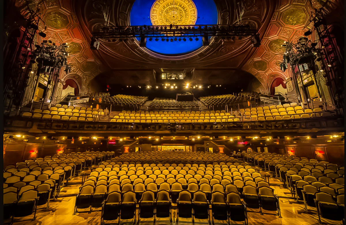inside the former site of studio 54. image credit:   roundabout theater company