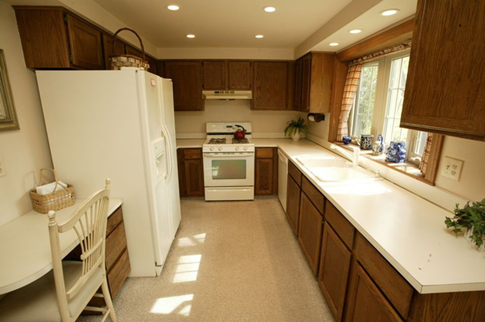 """The first home kitchen """"before"""""""