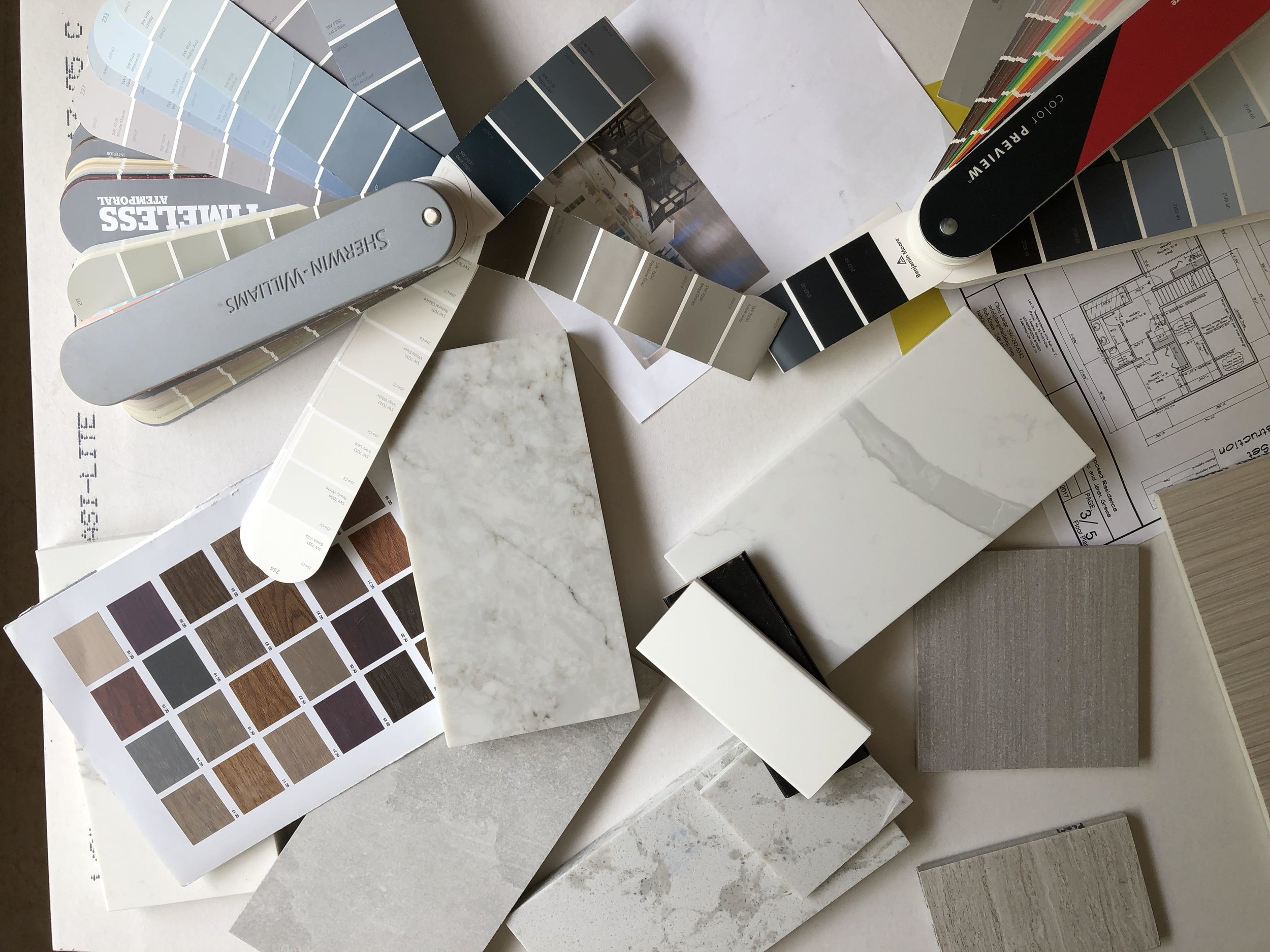 Amy specializes in color and material selections, great for people tackling home improvement projects without a traditional designer!