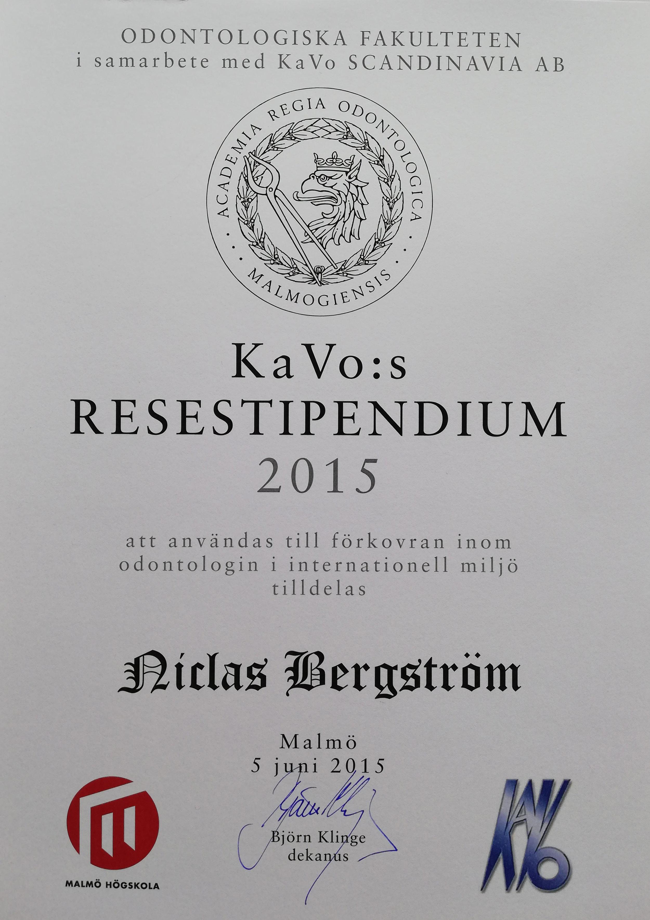 Resestipendium