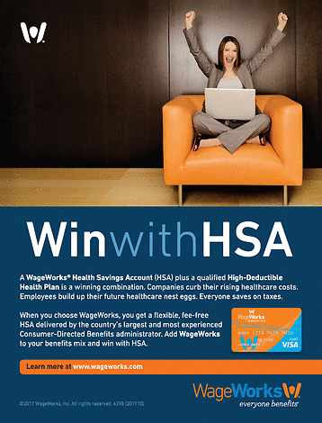 Win With HSA Magazine Ad