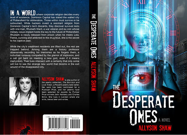 Book Cover Design: The Desperate Ones