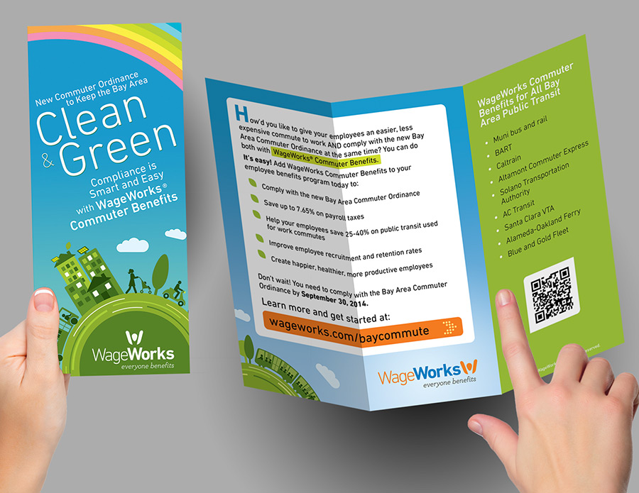 Clean & Green Trifold Brochure