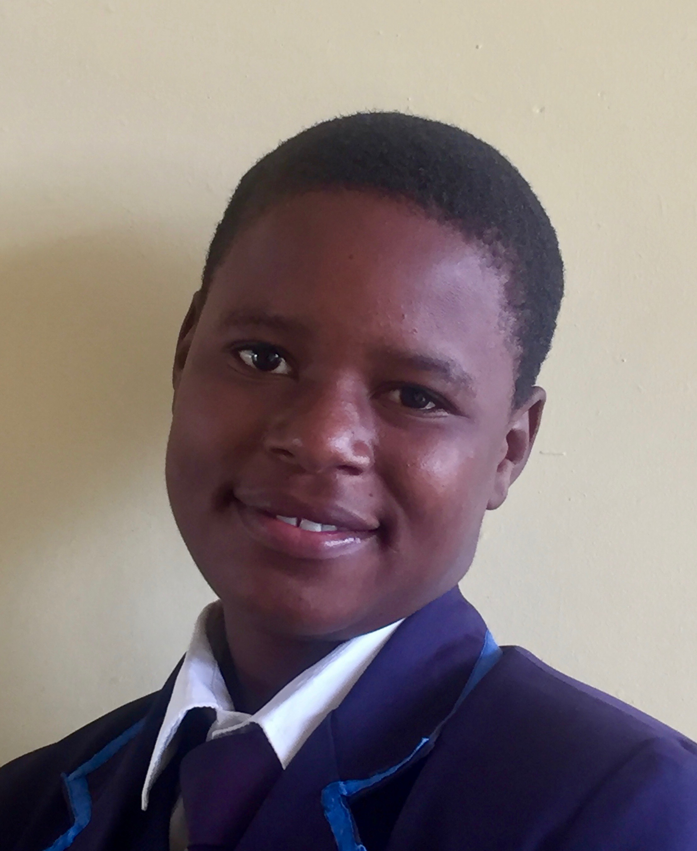 Petronella Chikwati   Petronella has always been extremely smart and enthusiastic about school. After both her parents died, she and her two younger siblings moved in with an elderly grandmother, and with Zienzele support Petronella has continued to excel at school. She struggled with math for a time, but with the tutoring of her fellow Zienzele students she is now doing much better. Currently Petronella is completing her final year at Berejena College Secondary School and hopes to attend National University of Science and Technology as a business major in the fall.