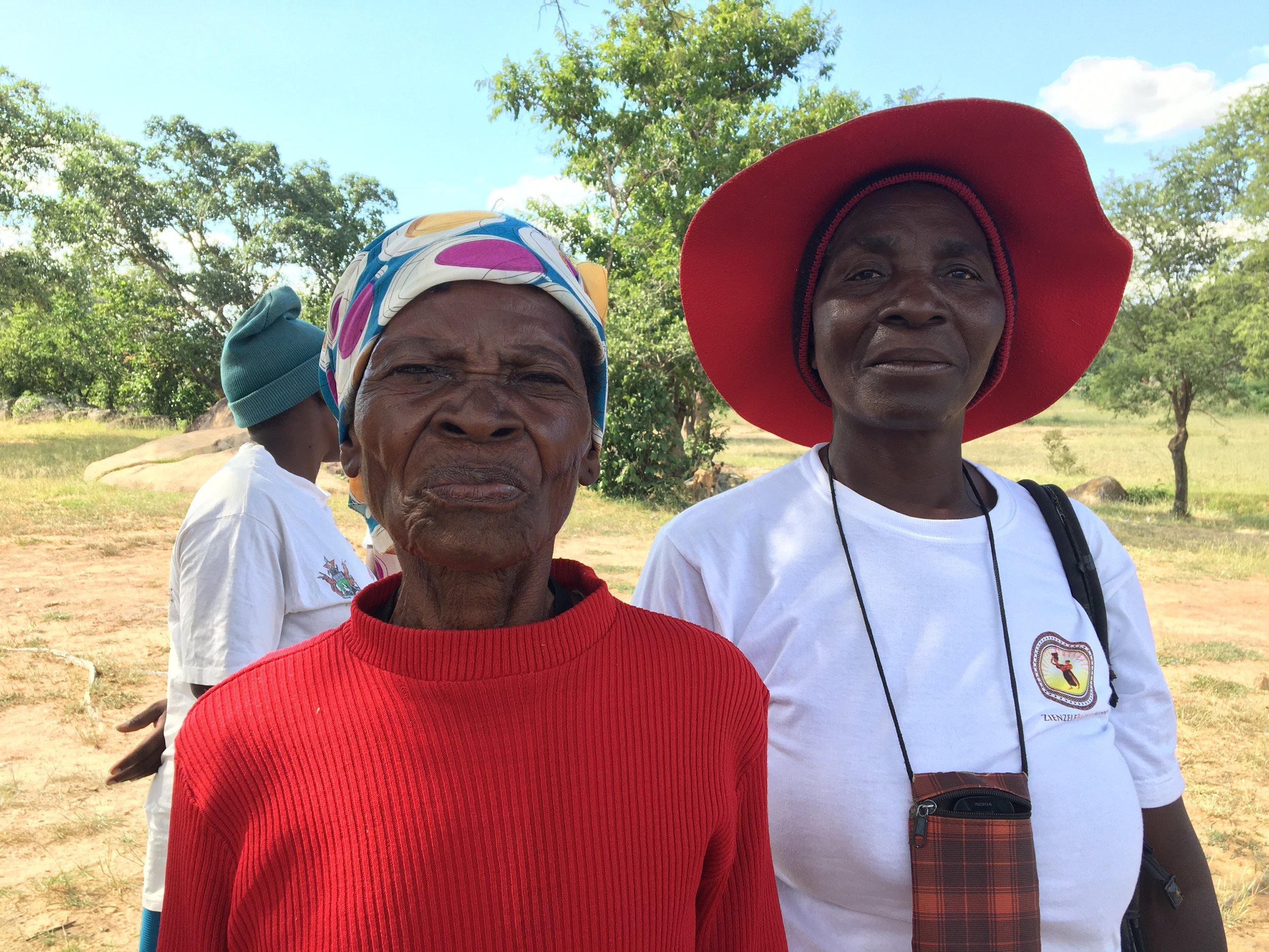 This beautiful lady is Mbuya Dzinganai of Chikofa!