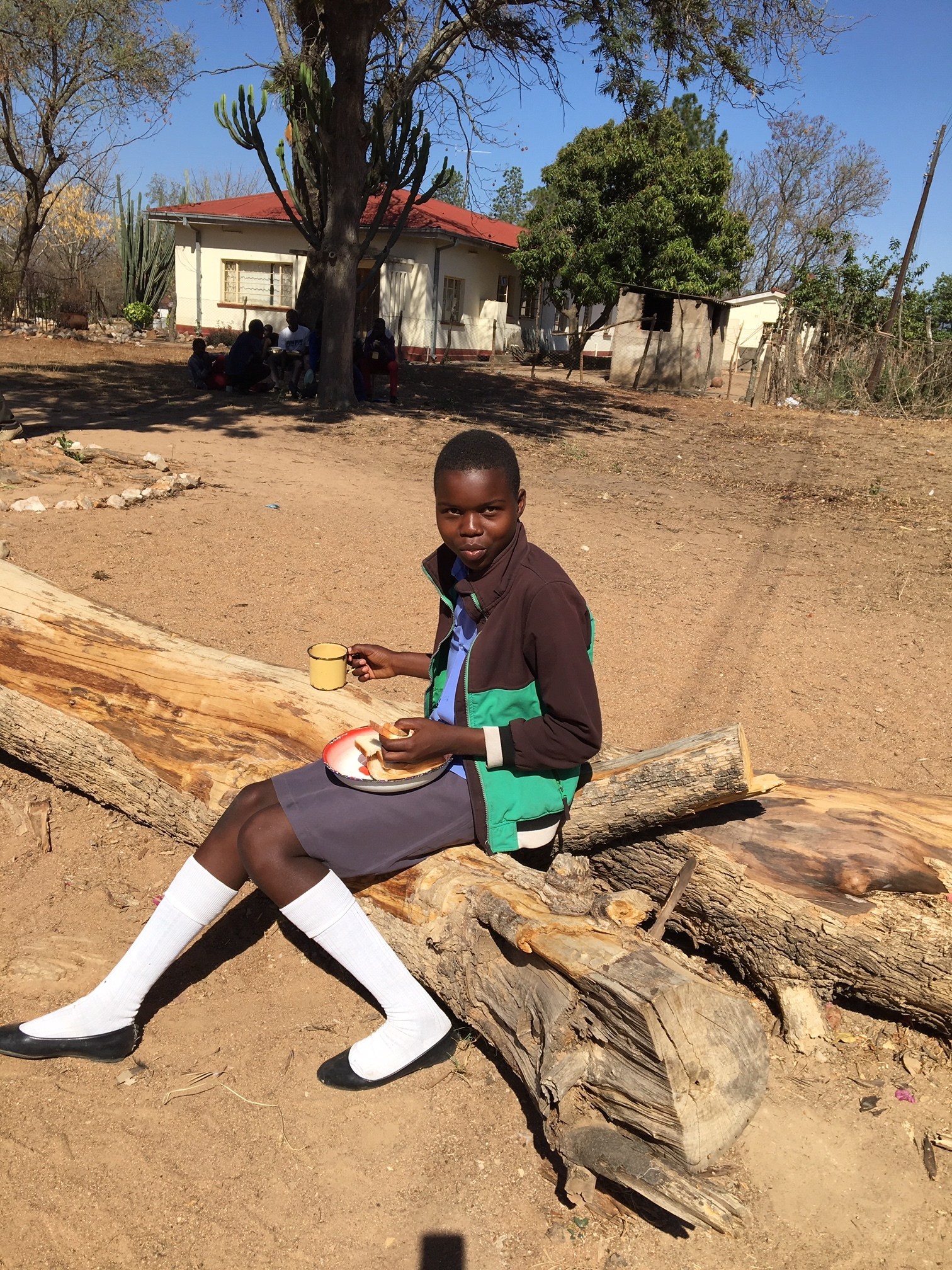 Faith Simbayani is the youngest member of one of our first Child-Headed Households. You might recognize Faith's surname: she has grown up with a great role-model in Zienzele All-Star  Tendai Simbayani .