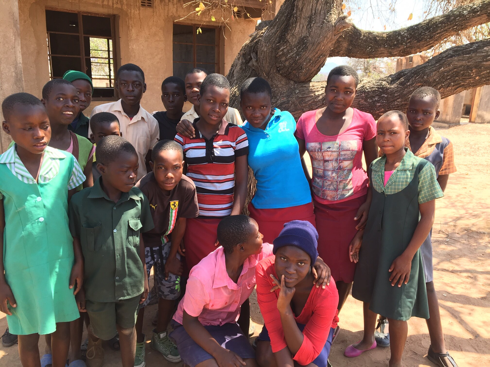 Berejena CHHs  Know what's cool?  Seeing our most vulnerable families (our child-headed households) forming a supportive friendly and safe community with each other!