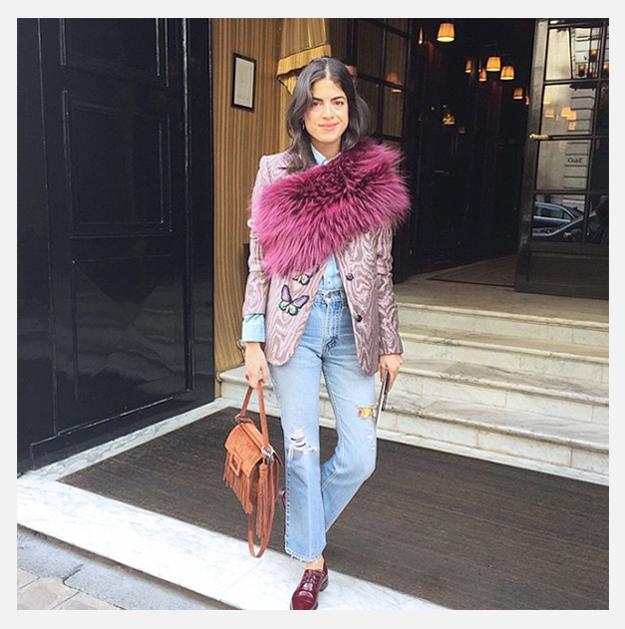 leandra medine saks potts - Trend alert: casacos de pele