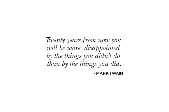 marc twain - Living life to the fullest