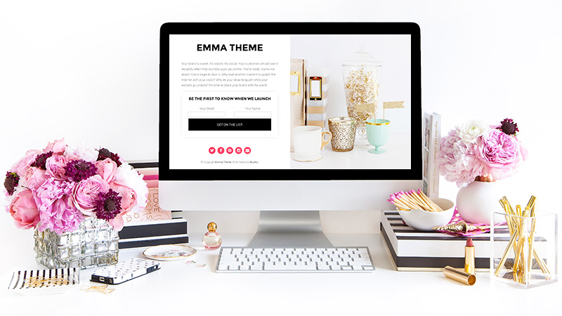 emma wordpress theme - Free website layout