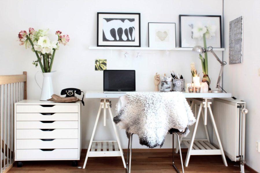 Stylish Scandinavian Home Office Design e1476758287315 - Sobre ser boa no que faz