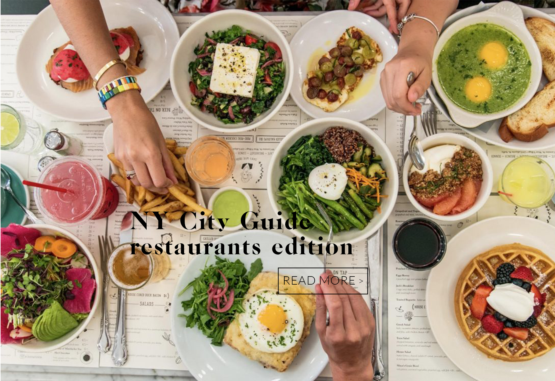 nyc guide 1 - New York Guide - Restaurants