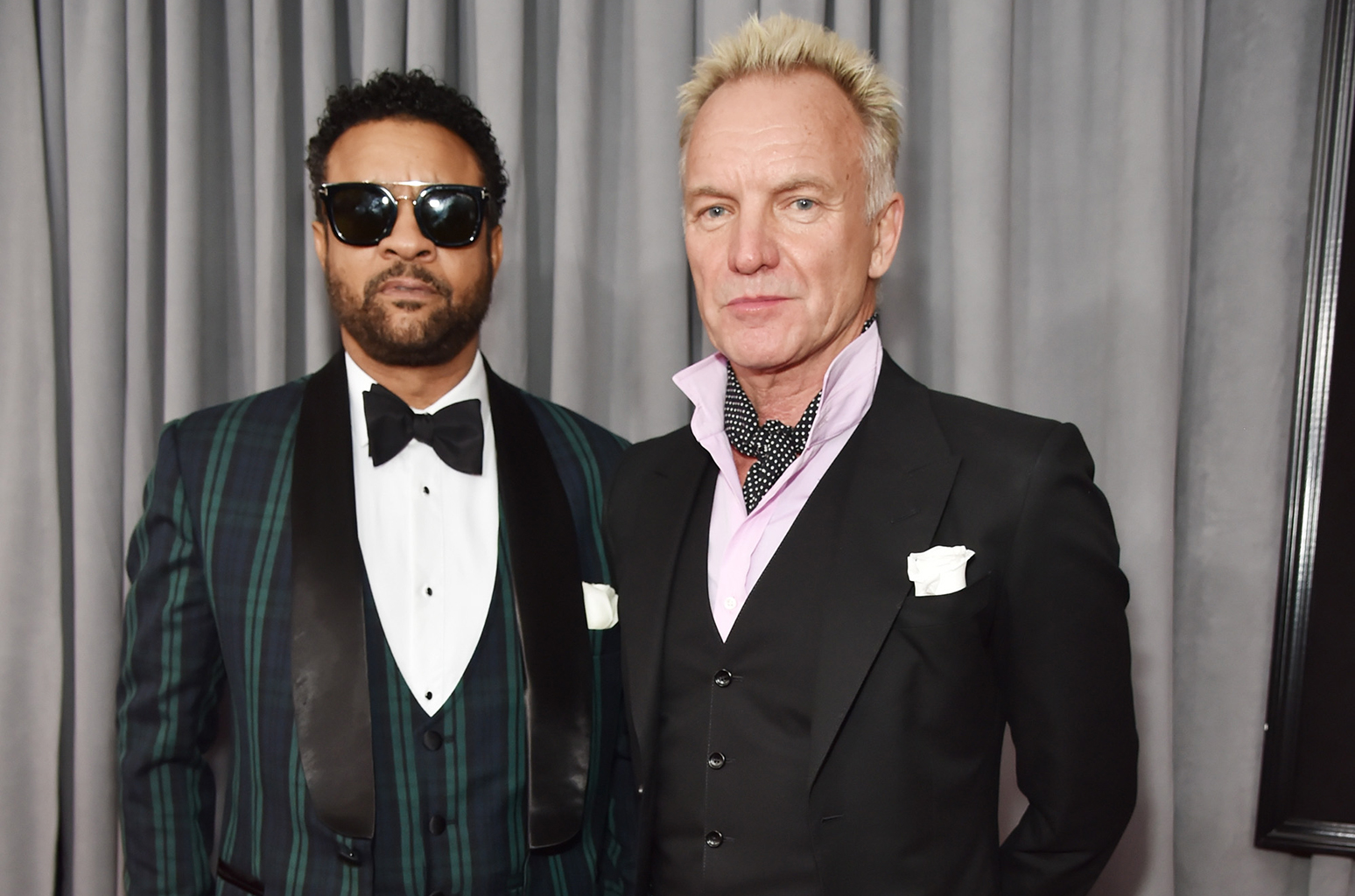shaggy sting grammys red carpet 2018 billboard 1548 - Os looks do Grammys favoritos da nossa fashion editor