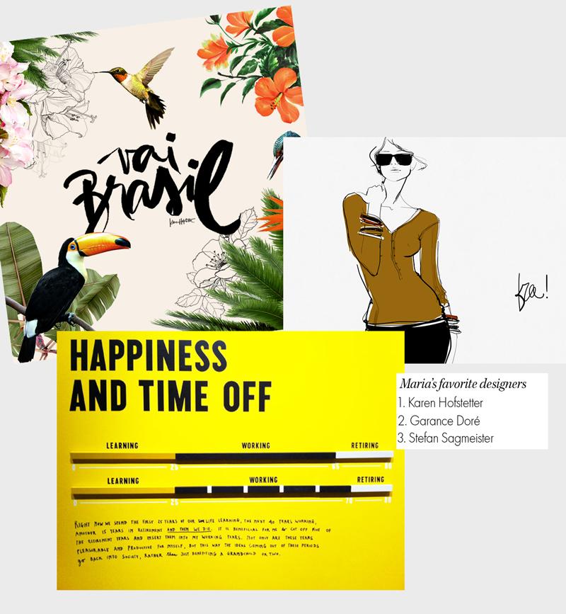 colagem maria ruth jobim lolla - Maria Ruth Jobim, Designer Gráfica, Ilustradora e Editora do Lolla