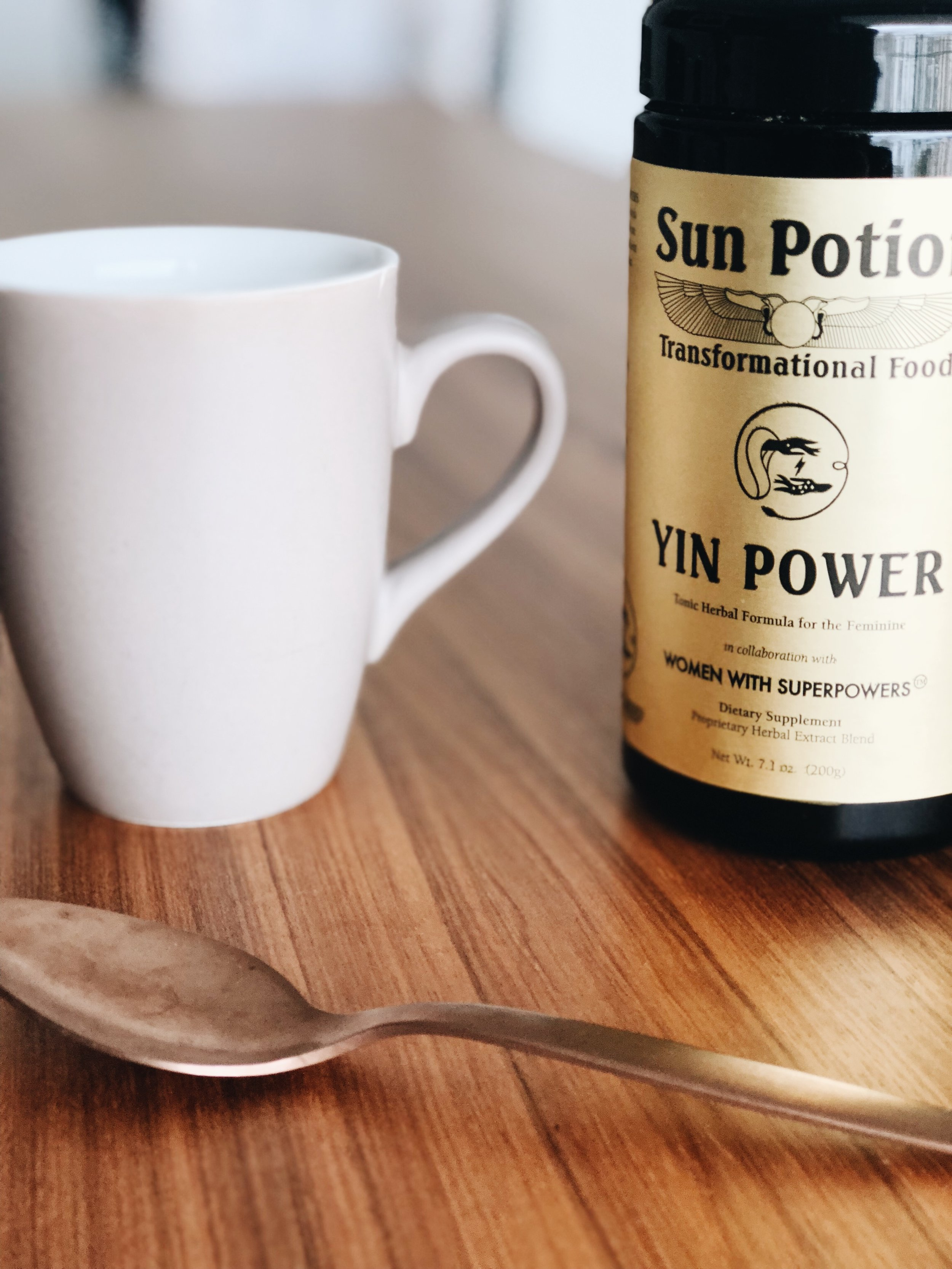 sun potion yin power - Eu tomei um adaptogen da Sun Potion por 3 meses