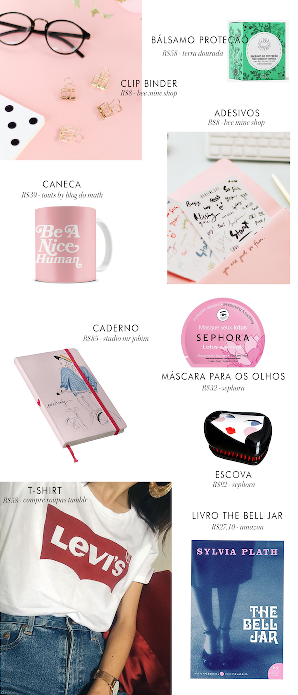 presentes menos 100 reais - 10 gifts por menos de R$100