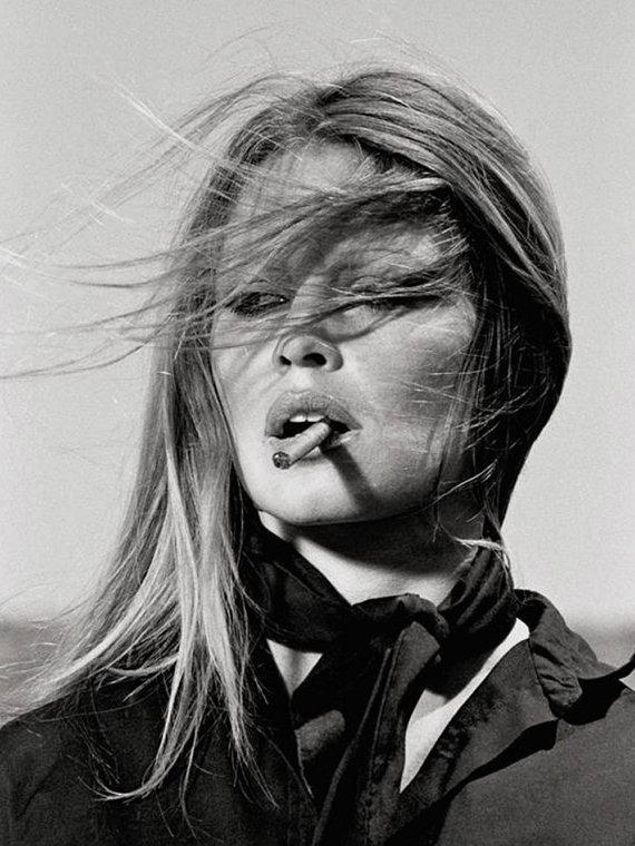Print Brigitte Bardot
