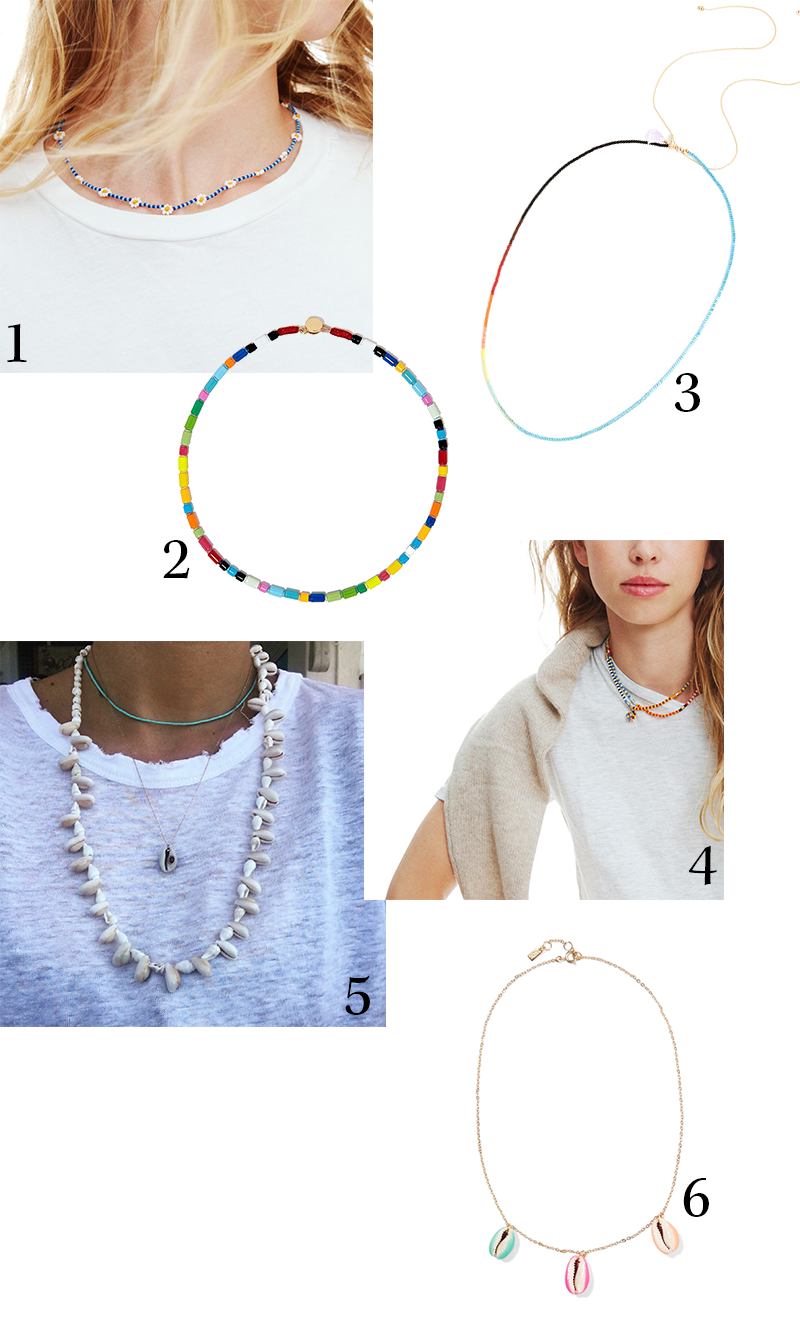 beaded necklaces - A Gente Investigou Onde Comprar Os Colares das Cool Girls de NY