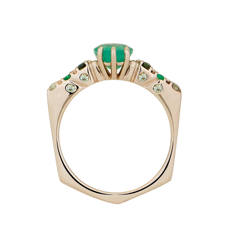 Anel+cole%C3%A7%C3%A3o+Wave Carol+Bassi+Jewelry  - We Love Carol Bassi Jewelry For Brazil Foundation