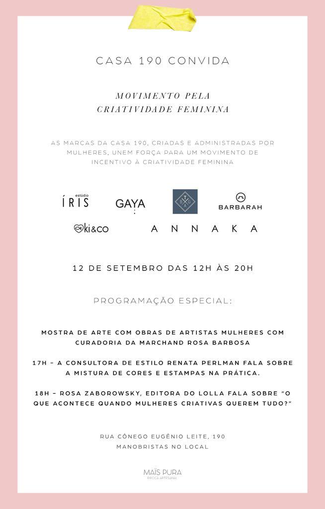 casa 190 lolla - Interview: Carolina Fontana, Diretora Criativa do Estudio Íris e Co-founder da Casa 190