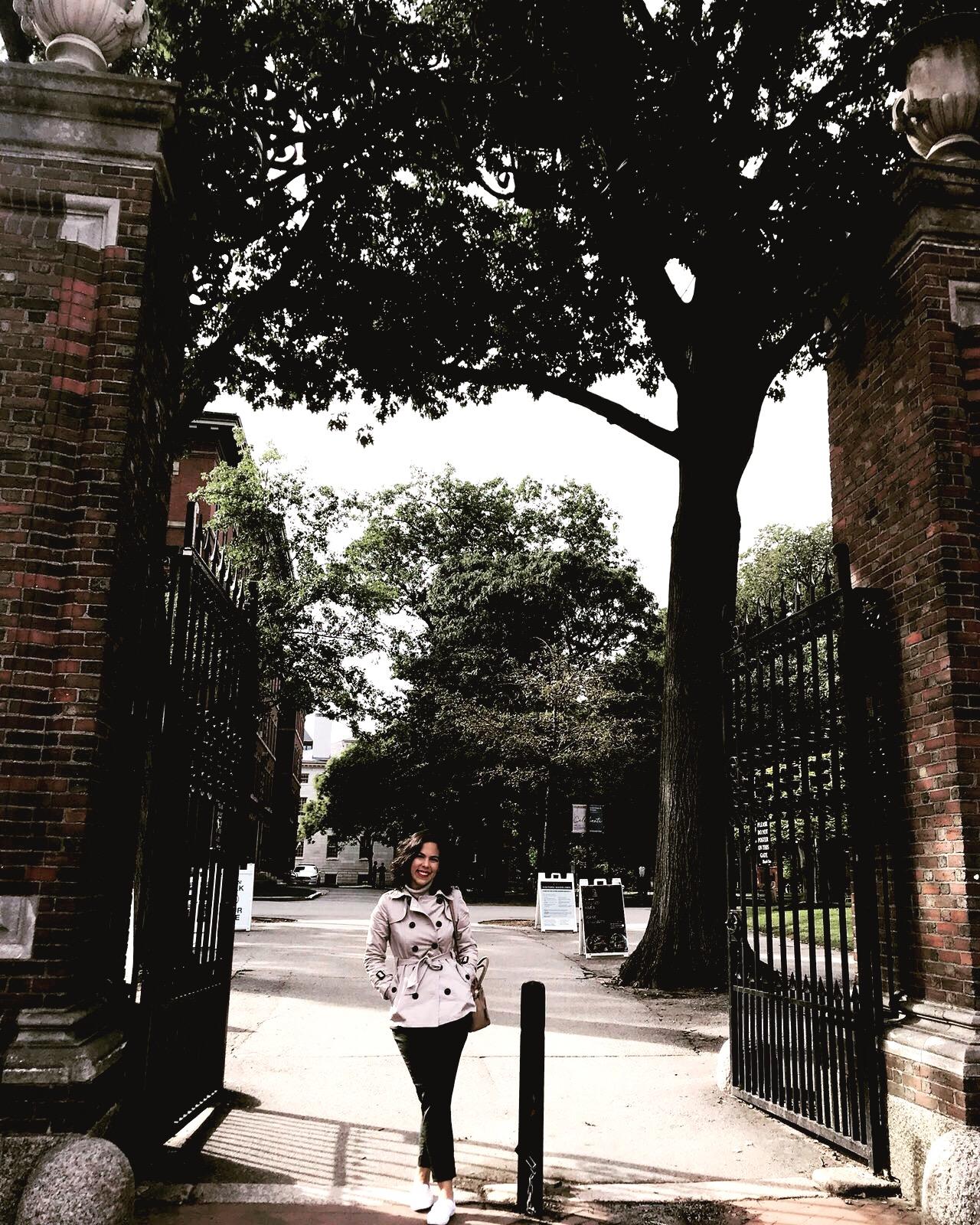 Helena em Harvard