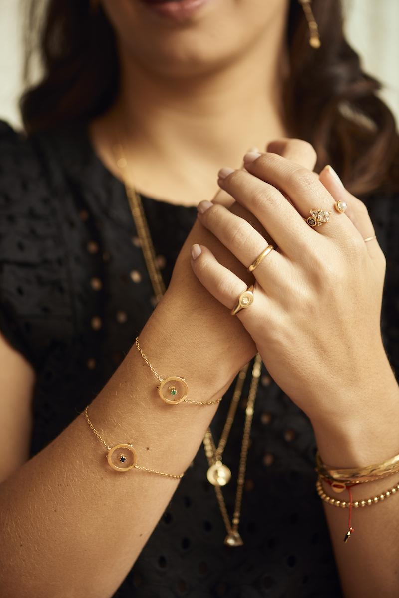 lolla carol bassi anel - Eu e Carol Bassi lançamos uma collab com as joias mais meaningful que você vai encontrar