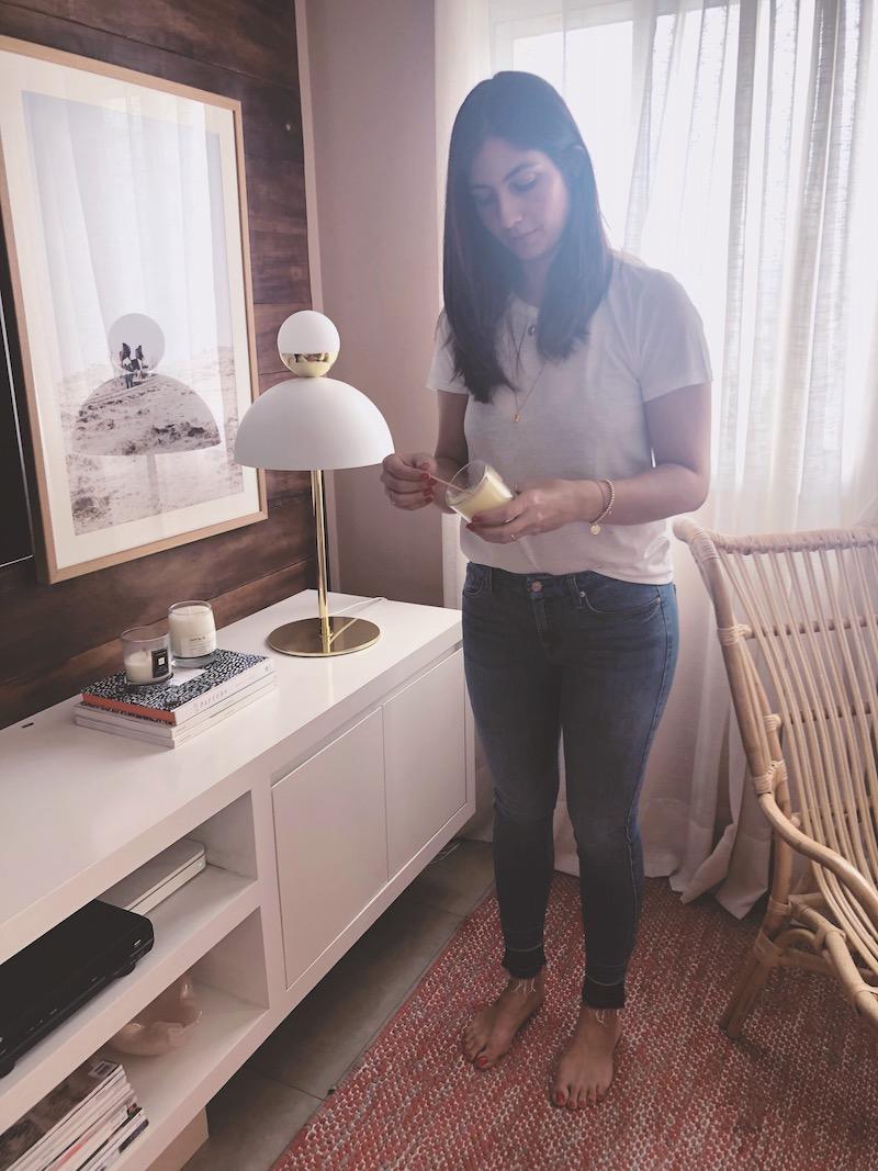 lolla seven jeans fashion we - Eu cultivo um ritual diário, é como eu mantenho a consciência.