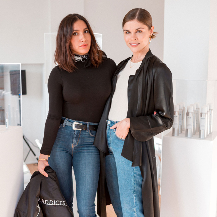 Jen Atkins, founder Ouai Haircare e Emily Weiss, founder Glossier