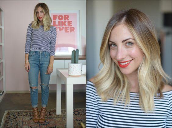 emily schuman 4 - Montando Um Guarda-Roupa Inspirado nas Nossas Girlbosses Favoritas Que Amam Jeans