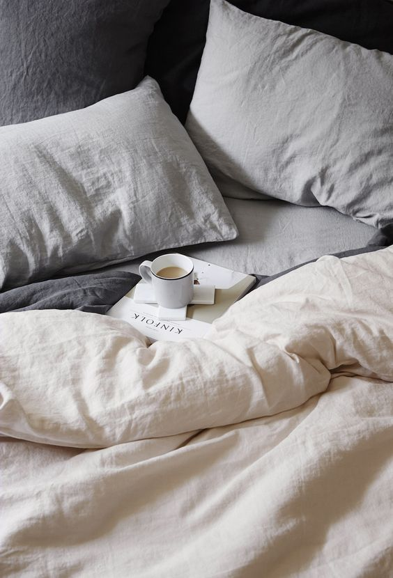 morning routine linen beds lolla - Morning routine by Roberta Drable, our lifestyle writer